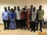 TIFI Project team and partners in Burkina Faso